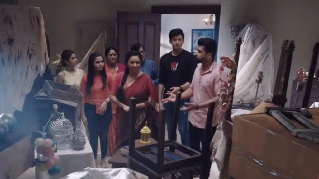 Anupama: Anupama's new room in Shah mansion