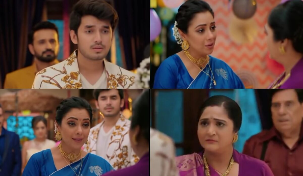 Anupama put forth Baa request to accept Samar and Nandini