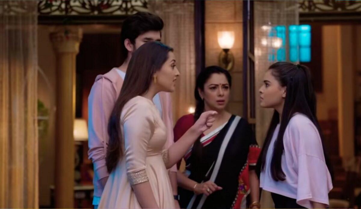 Anupama: Pakhi shouts at Nandini; Anupamaa slaps Pakhi