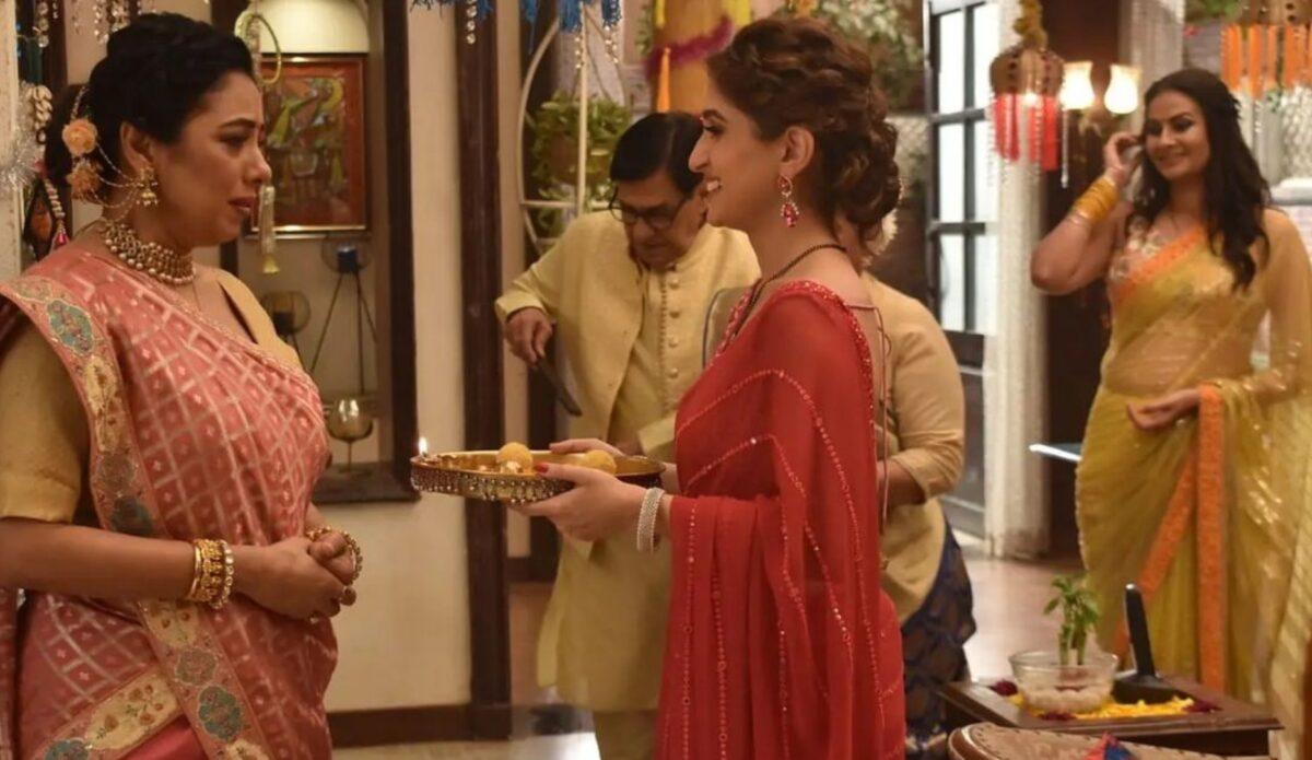Anupama: Kinjal ties Rakhi on Anupama's hand